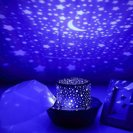 La lámpara del proyector del Cielo llevó la luz de la Noche ...