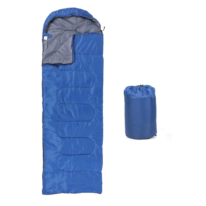 ZENITHIKE Sleeping Bag Single Envelope Portable Adult Sleeping Bag, Size 70.8 11.8 29.5 Inch Great for 4 Season