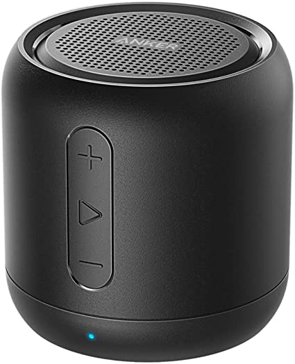 Anker Soundcore Mini, Super-Portable Bluetooth Speaker with 10-Hour  Playtime, 10-Foot Bluetooth Range, Enhanced Bass, Noise-Cancelling  Microphone -