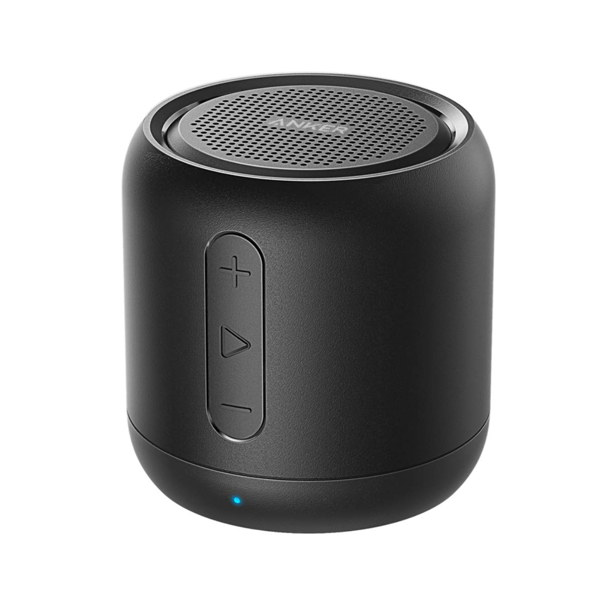 Anker SoundCore Mini, Super-Portable Bluetooth Speaker with 15-Hour Playtime, 66-Foot Bluetooth Range, Enhanced Bass, Noise-Cancelling Microphone - Black by Anker