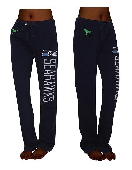 NFL Seattle Seahawks Womens Pink Victoria s Secret Pajama Pants Large Dark  Blue 60541b231