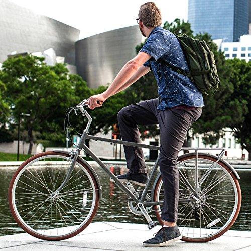 sixthreezero Ride in the Park Men's 7-Speed City Road Bicycle, Grey, 18 Frame/700x32c Wheels
