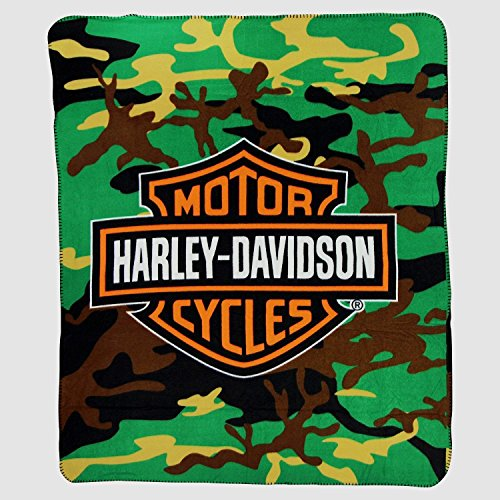 Harley Davidson CAMO Design Large Lightweight 50
