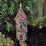 Amazoncom Fairy Garden Fairy Castle Patio Lawn Garden