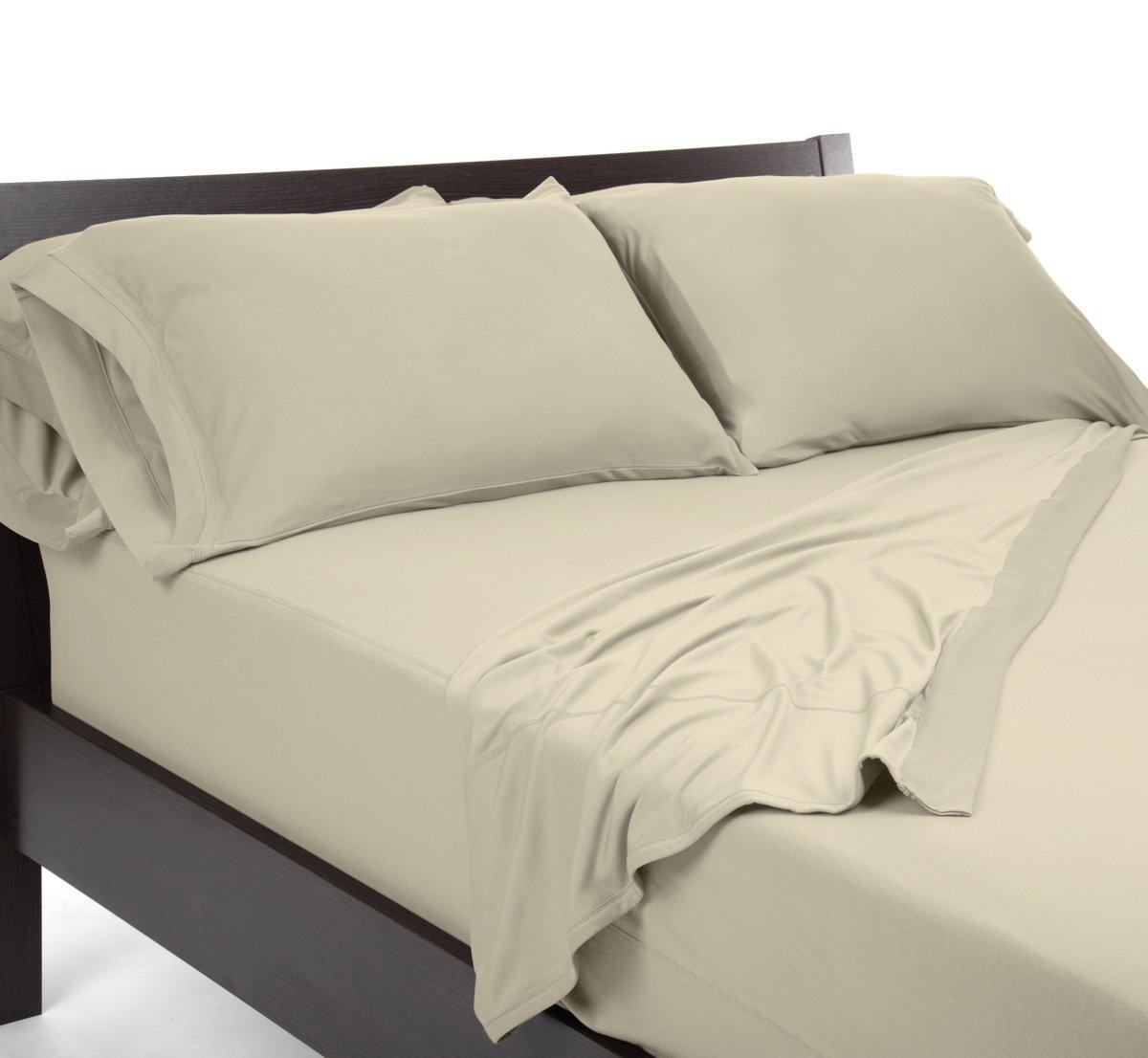 SHEEX REVERSIBLE Pillowcases - Standard Sand
