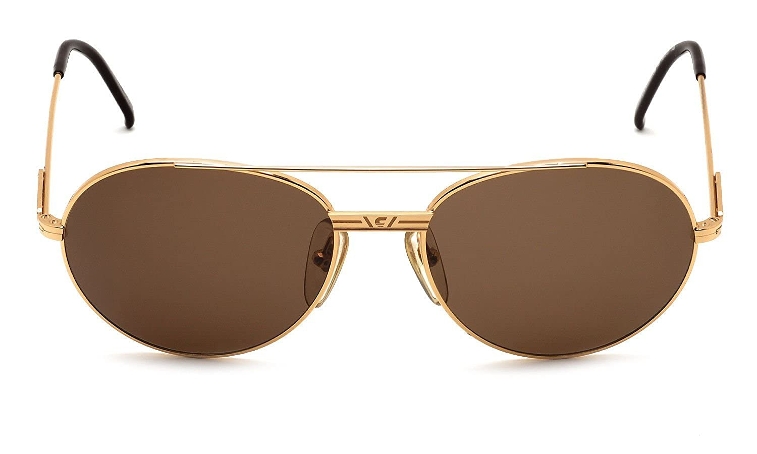a723fb3ab2 Carrera Sunglasses 5386 40 Gold 55-17-140 Made in Austria  Amazon.ca   Clothing   Accessories
