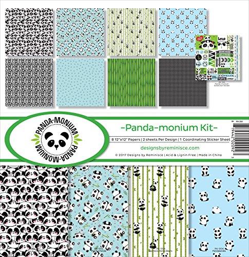 (Reminisce PA-200 Panda-monium Scrapbook Collection Kit)