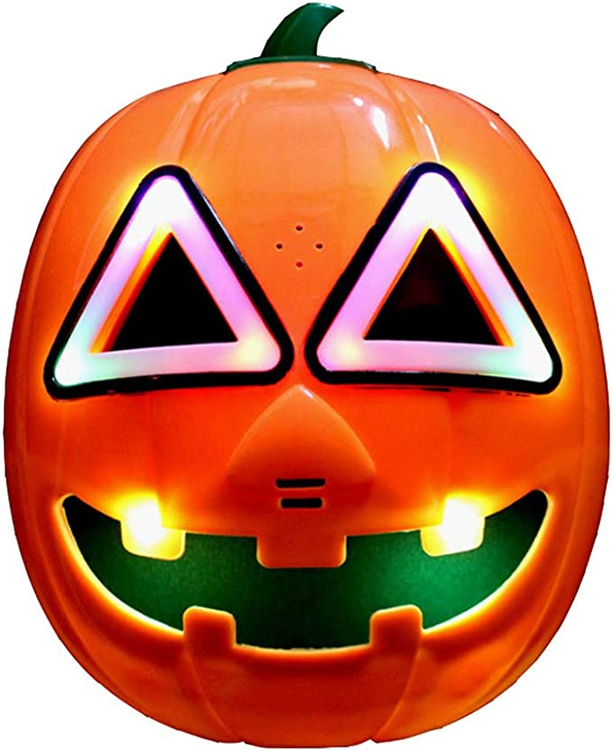 "Latex Maske Halloween Kürbis /""Pumpkin/"" Horror Fasching"