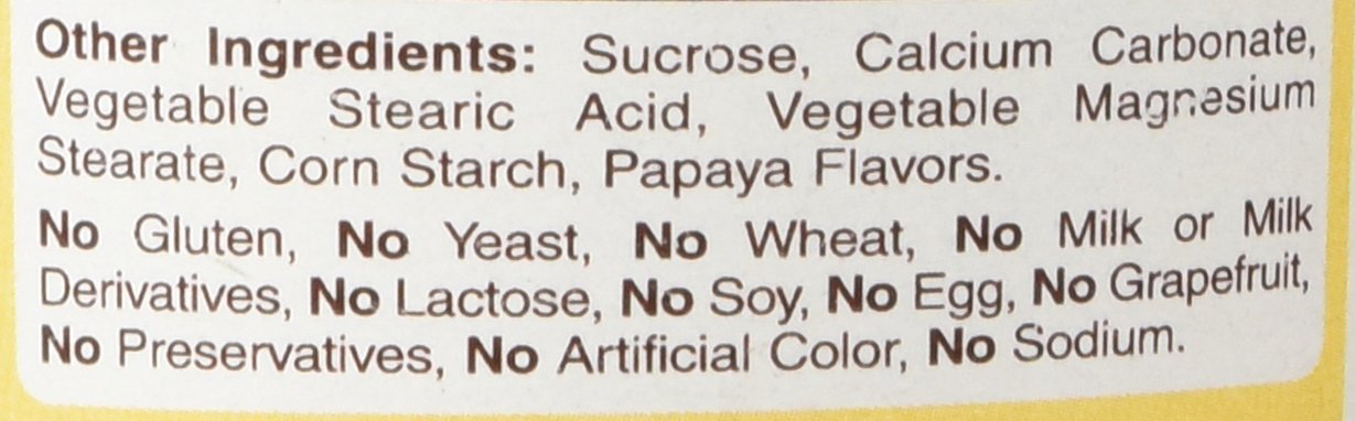 American Health Products - Original Papaya Enzyme, 250 chewable tablets: Amazon.es: Salud y cuidado personal