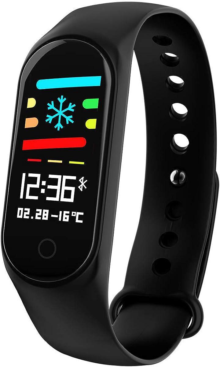 OPAKY Smartwatch, Reloj Inteligente Reloj Deportivo con Ritmo Cardíaco Mejorado, Presión Arterial, Oxígeno, Presión Arterial Pulsera Actividad Inteligente, Hombre Mujer niños, Reloj de Fitness