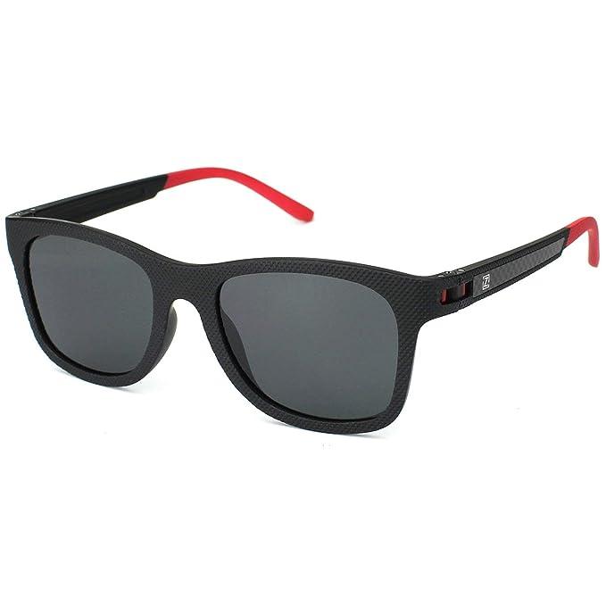 3da033893b ZENOTTIC Moda Para Hombre Gafas De Sol Polarizadas Reflectantes Lentes de  Espejo Mujer TR90 Monturas: Amazon.es: Ropa y accesorios