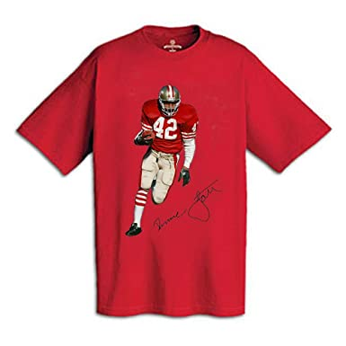 1f829092 AP SPORTS Apparel Ronnie Lott T-Shirt Imprinted with Autograph and ...