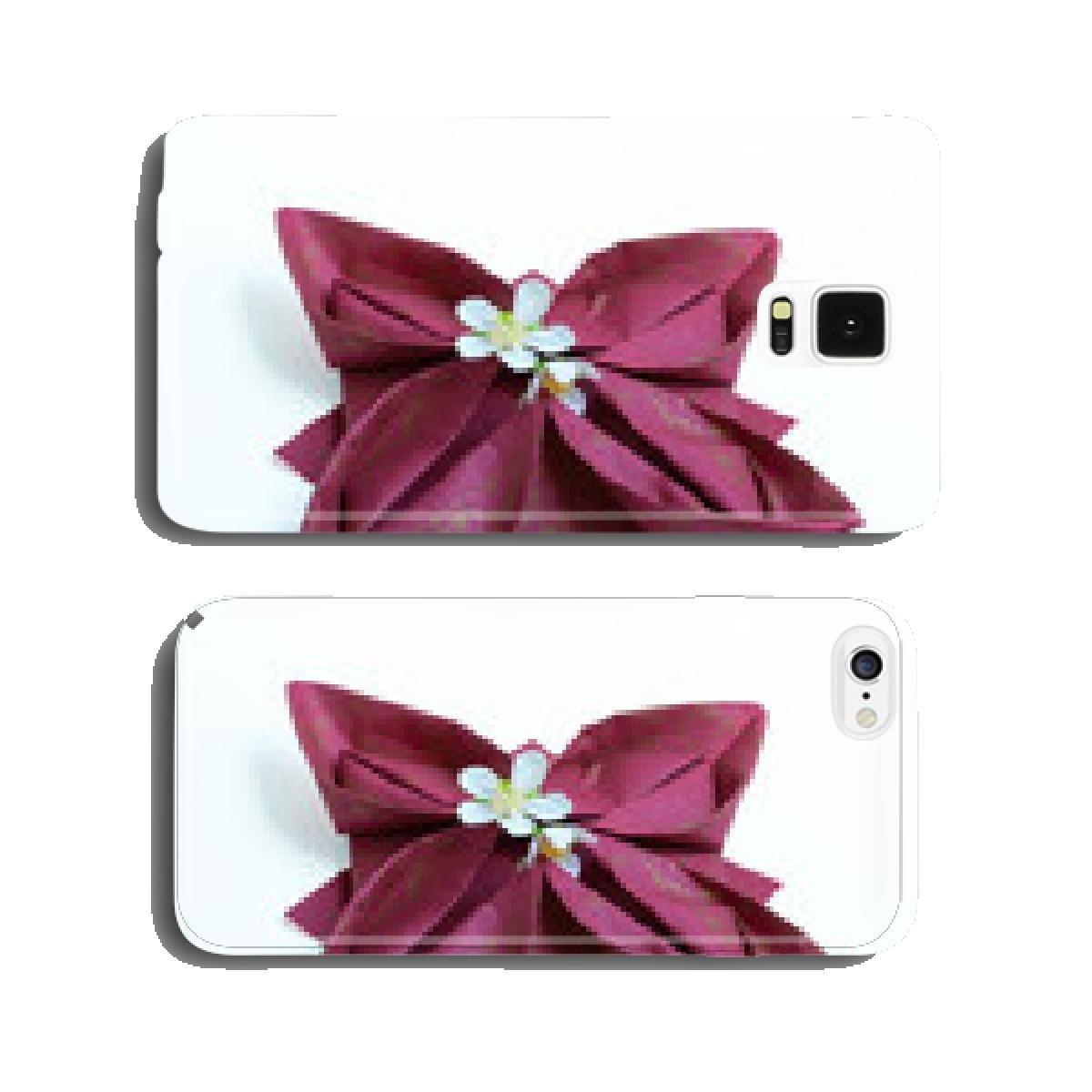 Napkin Folding Lotus Flower On White Background Cell Amazon