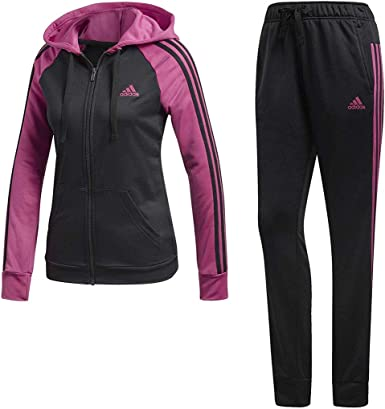 Adidas Re-Focus - Chándal para mujer, color negro y rosa Negro ...