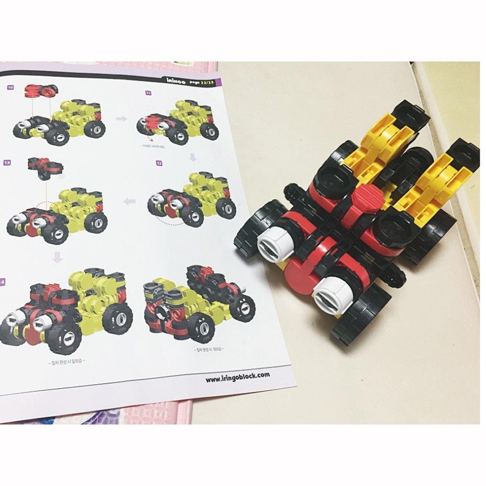 iRiNGO The starter Set 212pcs Transformable Kids Creativity IQ EQ Block Toy by iRiNGO The starter (Image #7)