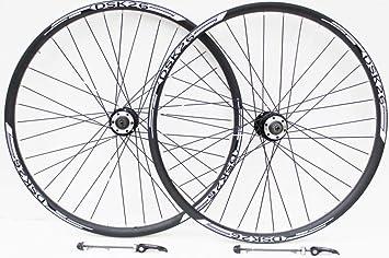 """26 """"rueda de bicicleta de montaña freno de disco blanco y VBrake freno ruedas"""