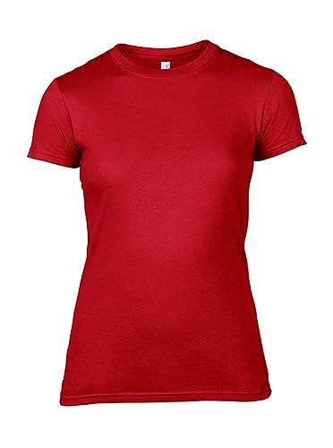 Camiseta para Mujer a mangas cortas de cuello redondo