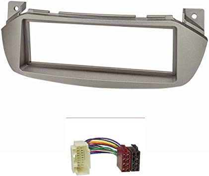 Facade Autoradio FA9407 compatible avec Nissan Pixo Suzuki Alto Gris ADNAuto