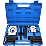 Toolrock 12pcs Bearing Puller Gear Splitter Fly Wheel Separator Set Extensions Tool Kit