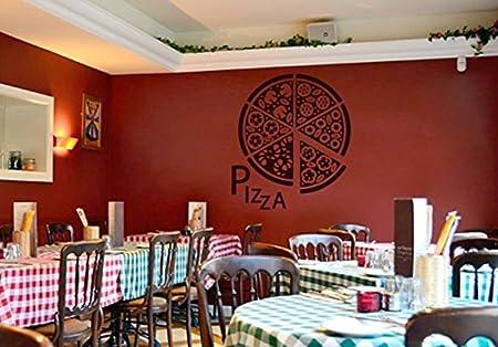 Home Decorations ik Wall Decal Sticker pizza Pizzeria Italian ...