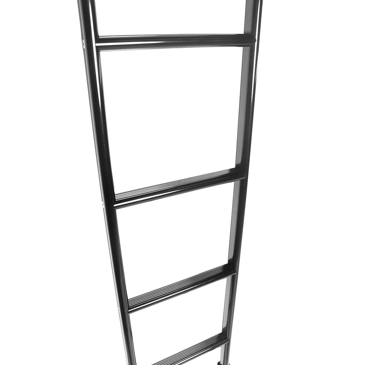 Amazon.com: Vantech - Escalera para parte posterior., Negro ...