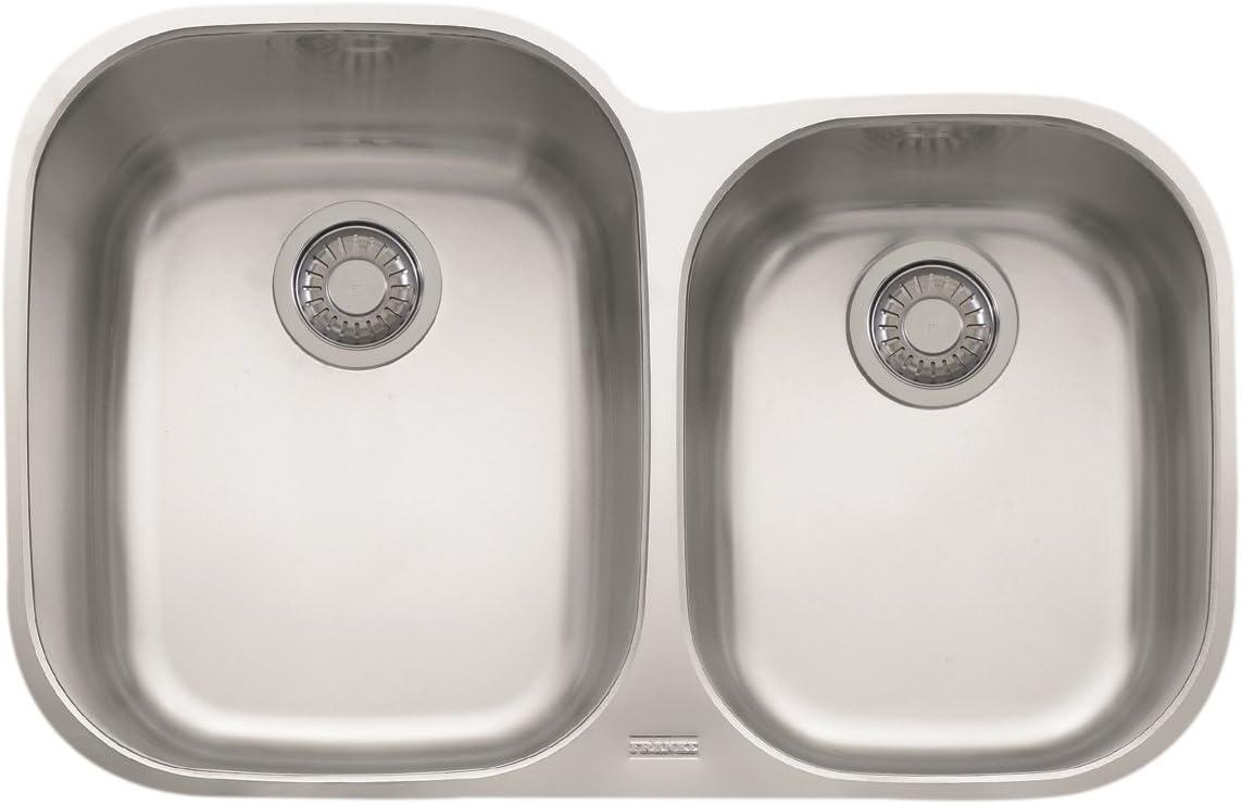Franke RGX160 Regetta Offset Double Bowl Undermount Kitchen Sink