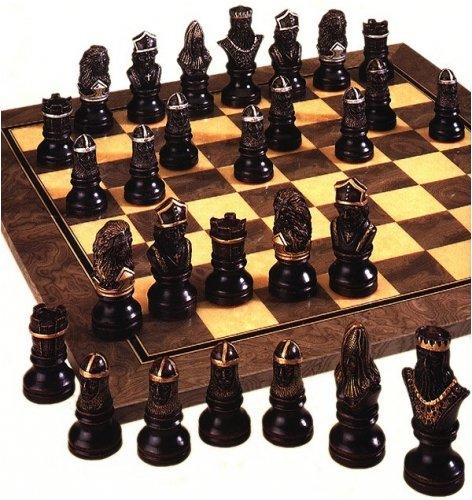 Historisches Historisches Historisches Schachspiel - Richard Löwenherz (handbemalt) 29e050