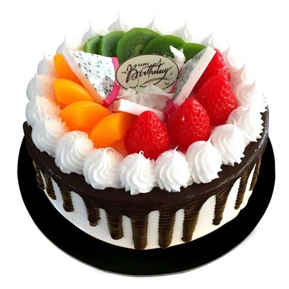 Amazon Handmade 8 Fake Birthday Cake Model For Bakery Sample