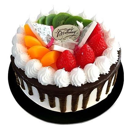 Handmade 8quot Fake Birthday Cake Model For Bakery Sample Display