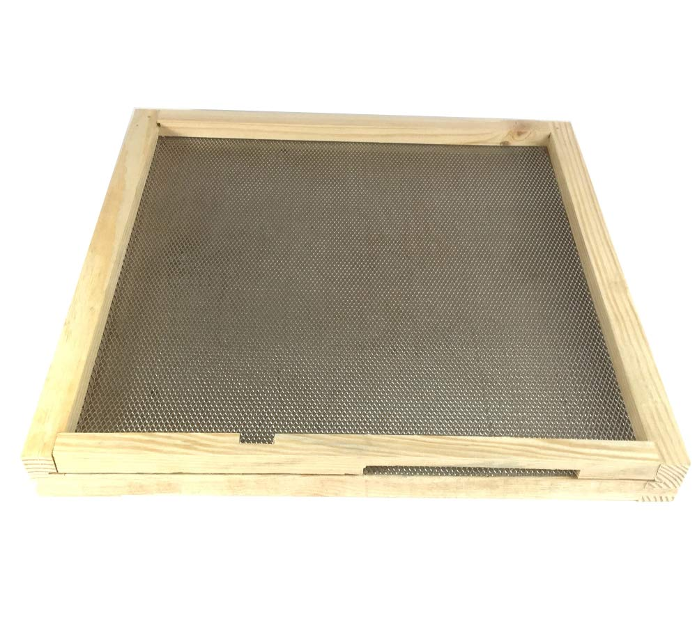 Fully Assembled British National Wooden Bee Hive Floor Simon The Beekeeper