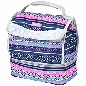 iPack Insulated School Work Lunch Kit, Aztec