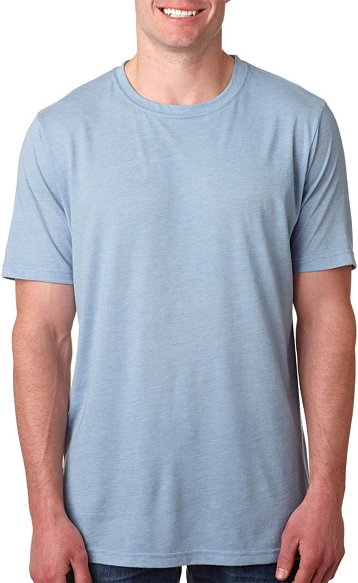 Next Level 6200 Mens Basic Poly//Cotton Tee T shirt