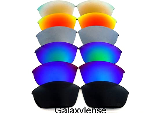 f477125776 Amazon.com  Replacement Lenses For Oakley Half Jacket Polarized  Black Blue Green Gray Red Gold  Clothing