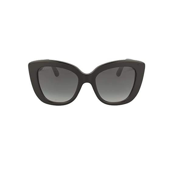 97e0114786aa5 Gucci GG0327S 001 Black GG0327S Cats Eyes Sunglasses Lens Category 3 Size  52mm  Amazon.co.uk  Clothing