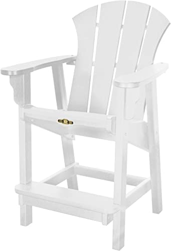Pawleys Island Solid Colored Sunrise Outdoor Counter Height Chair