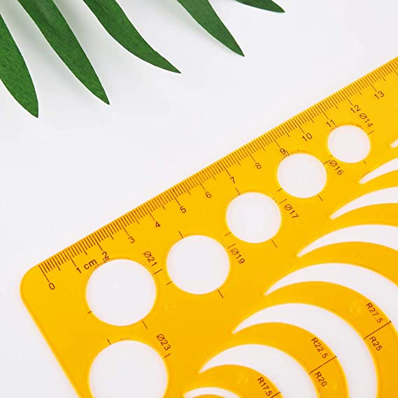 misright template ruler stencils drawing template for all purpose