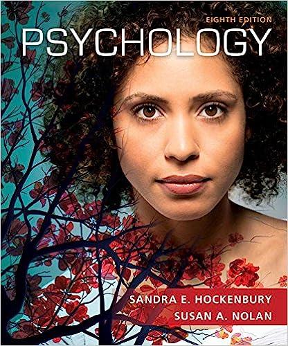Psychology by Hockenbury/Nolan