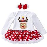 Tefamore 1-5 años Niña Disfraz Halloween Manga Larga Calabaza Tutu Falda  Corta 6be327270da5