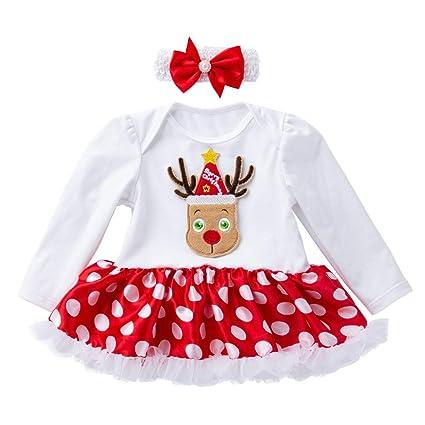 40067d10fa435 Amazon.com  Newborn Girl Christmas Dress Sets