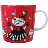 Arabia Moomin Mug - Little My RED