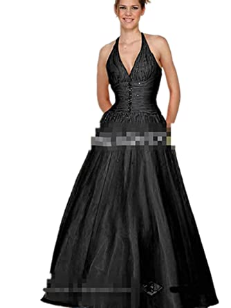 F007 On sale Evening Dresses party full Length Prom gown ball dress robe (F007 BLACK