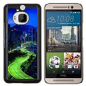 Stuss Case / Funda Carcasa protectora - Luces de la ciudad - HTC One M9Plus M9+ M9 Plus