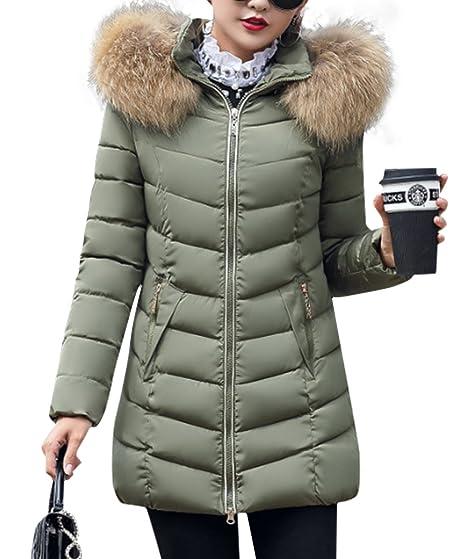 Manteau long en fausse fourrure femme