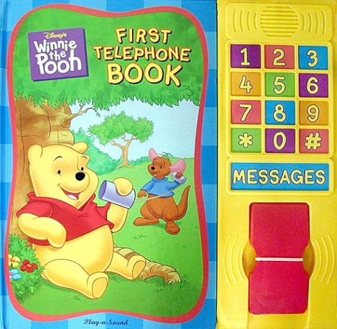 (Disney's Winnie-the-Pooh: First Telephone Book)