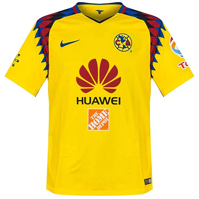 8ca30672099 Amazon.com: Nike Club America 3rd Men's Soccer Jersey 2017-18: Clothing