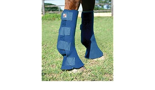 Equilibrium Equi - Herradura/Protector para Caballo, Color Azul, Talla: Amazon.es: Deportes y aire libre