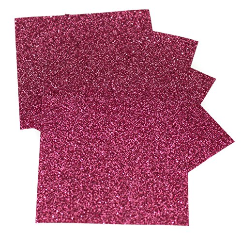 (Expressions Vinyl - Blush - 9in. x 12in. 5-pack Siser Glitter Iron-on Heat Transfer Vinyl Sheets)