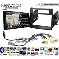 Volunteer Audio Kenwood Excelon DNX994S Double Din Radio Install Kit with GPS Navigation Apple CarPlay Android Auto Fits 2012-2013 Kia Soul