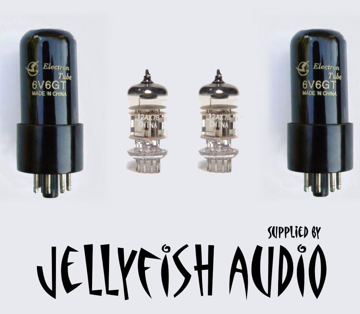 Jellyfish Audio kit de válvula de 6 V6 & 12 AX7 PARA ...