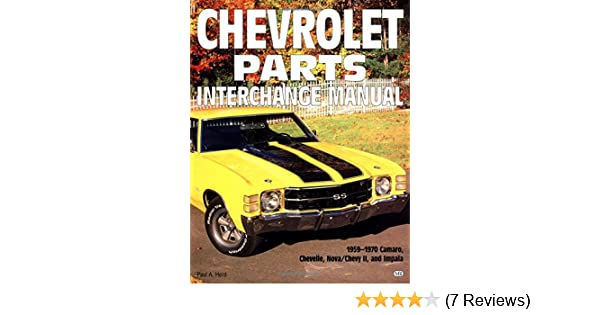 chevy nova interchangeable parts